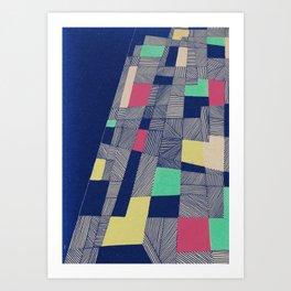 - mnmnt - Art Print