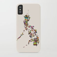 7,107 Islands | A Map of the Philippines iPhone X Slim Case