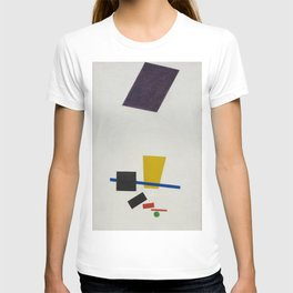 Kazimir Malevich  - Painterly Realism of a Football Player: Color Masses in the 4th Dimension (1915) T-shirt