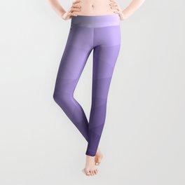 Ultra violet purple geometric mesh Leggings