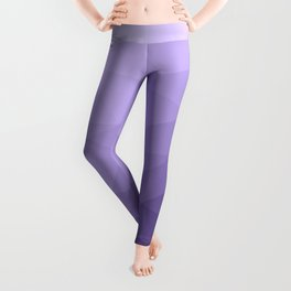 Ultra violet purple geometric mesh pattern Leggings