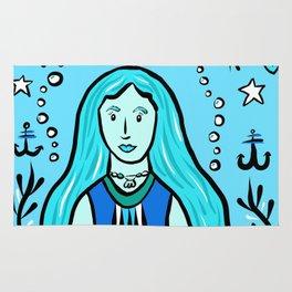 Glamazon Girl: Aquaris Rug