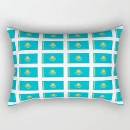 flag of Kazakhstan -Kazakhstan,Kazakh,Қазақстан,Казахстан,Kazakhstani,Astana. Rectangular Pillow