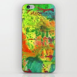 Abstract of watercolor iPhone Skin