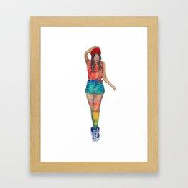 Arna-Baby Framed Art Print