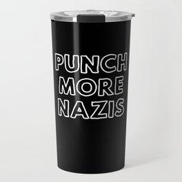 Punch More Nazis Travel Mug