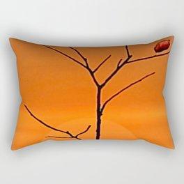 When the last leaf falls. Rectangular Pillow