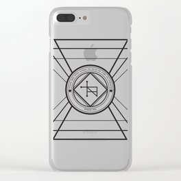 Tempus Sanandi Sigilum Clear iPhone Case