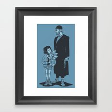 Leon the Professional Framed Art Print