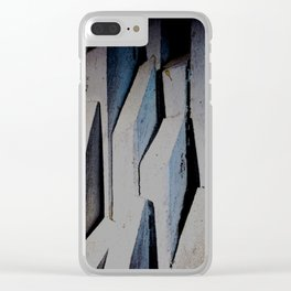 """""""Melodramatic Heights"""" Clear iPhone Case"""