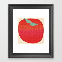 Japanese Apple Framed Art Print