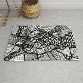 Manchester Map City Centre UK Rug