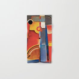 Color Construction by Konstantin Medunetzky Hand & Bath Towel