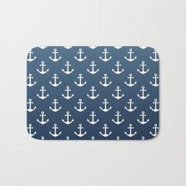 Anchor Pattern Bath Mat