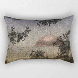 Dome of the Rock Rectangular Pillow