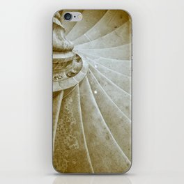 Sand stone spiral staircase 17 iPhone Skin