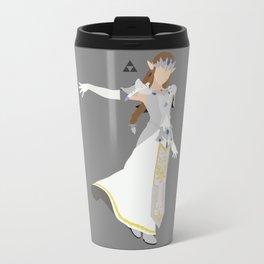 Princess Zelda(Smash)White Travel Mug