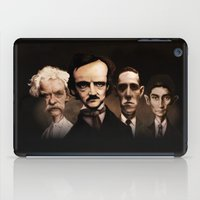 kafka iPad Cases featuring Classics never die... by Poe Collection (by David G. Forés)