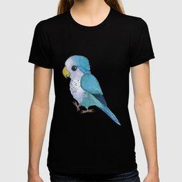 very cute blue quaker parrot T-shirt
