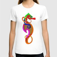 psychadelic T-shirts featuring Psychadelic Seahorse Knot by Knot Your World