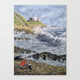 Mumbles Point Canvas Print
