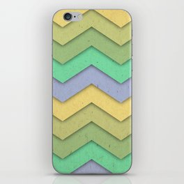 Spring day Chevron iPhone Skin