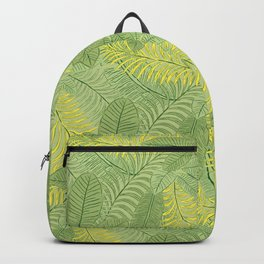 Tropical Leaves Backpack
