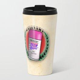 Smells Like Tattoo Flash Travel Mug