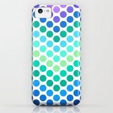 Dot Chevron: Blue Purple Slim Case iPhone 5c