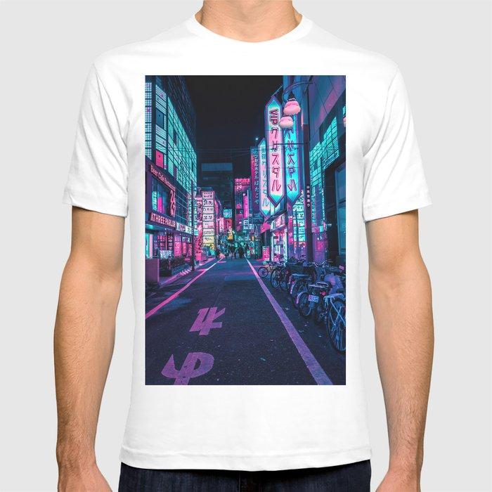 A Neon Wonderland called Tokyo T-shirt