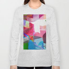 swissflag collage colorful Long Sleeve T-shirt