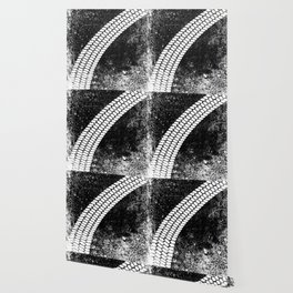 Grunge Skid Mark Wallpaper