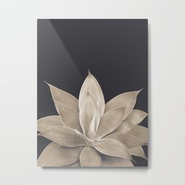 Sepia Agave #1 #tropical #decor #art #society6 Metal Print