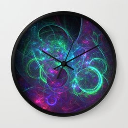 Chaos in Cosmos Wall Clock
