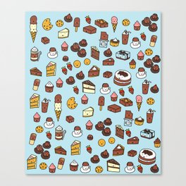 Chocolate Treats Canvas Print