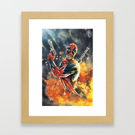 Tango of Death Framed Art Print