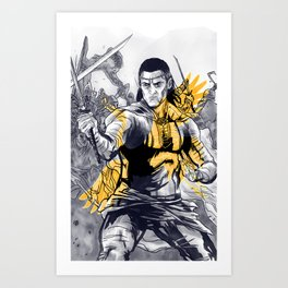 Lan Mandragoran: Last Battle Series Art Print