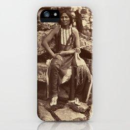Little Bear, Cheyenne, 1875 iPhone Case