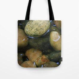 Stones in Melting Ice Tote Bag