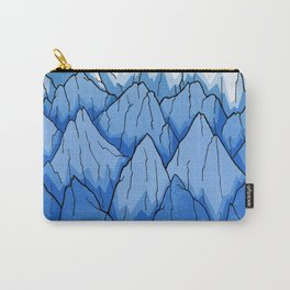 As the mountains turned blue Carry-All Pouch