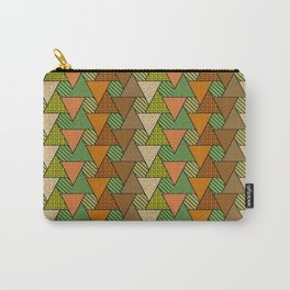 Geo Fun 07 in warm autumn colors Carry-All Pouch
