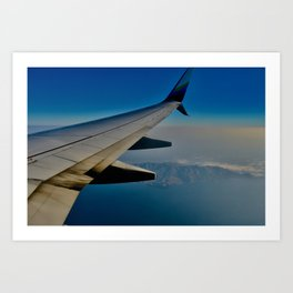 Flyin' above Avalon Art Print