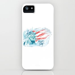 Happy National Freedom Day iPhone Case