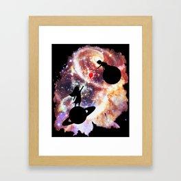 A Gift Across Space & Time Framed Art Print