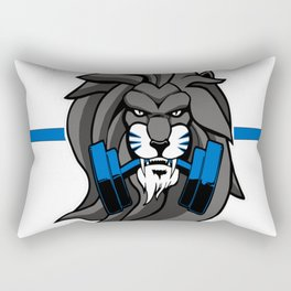 Unleashed Fitness Rectangular Pillow