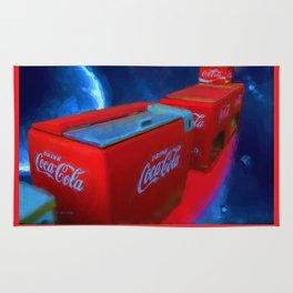 Softdrinks in Space Painting Rug