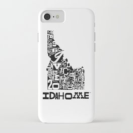 County Lines Design iPhone Case