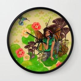 Forest Fey Wall Clock