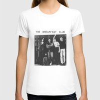 the breakfast club T-shirts featuring The breakfast club by Mariana M