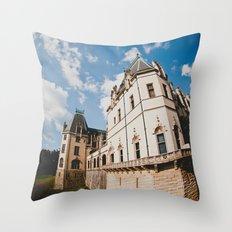 Biltmore Under Blue Skies Throw Pillow